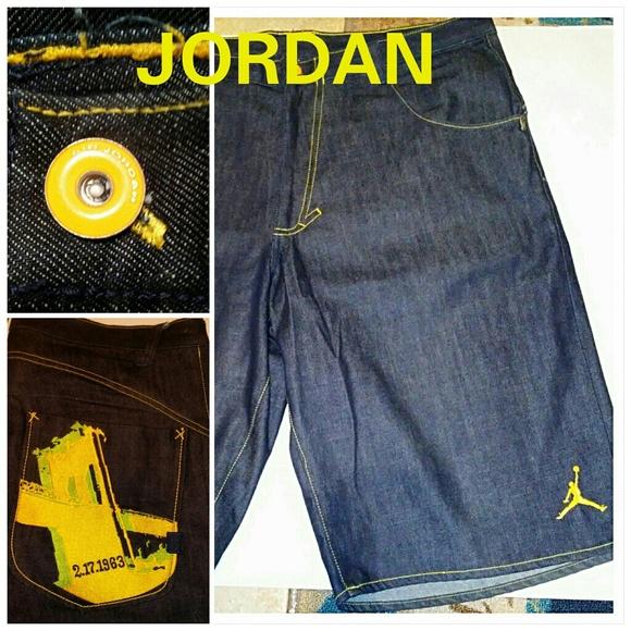 22b0b0e9894 Jordan Other - Air Jordan Mens Jean Shorts Size 38 Mars Blackmon